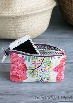 Geldbeutel farbenmix Taschenspieler 3 Schnittmuster, Nähanleitungen und Videos