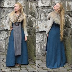 love this for a cold weather viking costume