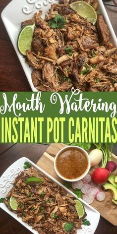 you been looking for a good carnitas recipe? This instant pot carnitas recipe is so yummy and is pretty easy to make.Have you been looking for a good carnitas recipe? This instant pot carnitas recipe is so yummy and is pretty easy to make. Instant Pot Pressure Cooker, Pressure Cooker Recipes, Pressure Cooker Carnitas, Pork Shoulder Pressure Cooker, Pressure Cooking, Slow Cooker, Crockpot Recipes, Healthy Recipes, Cooking Recipes