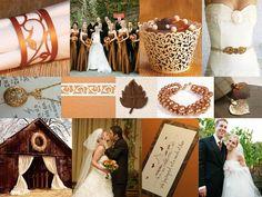 Choosing a Color Scheme for your Fall Wedding - My Wedding Reception Ideas Blog