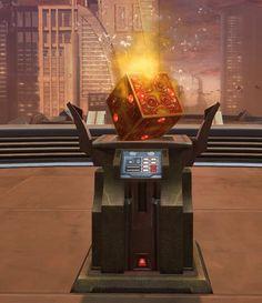 Dark Datacron (Cunning) SWTOR Strongholds technological decoration in Star Wars: The Old Republic. The Old Republic, Old Things, Star Wars, Cosplay, Decorations, Dark, Starwars, Deko, Embellishments
