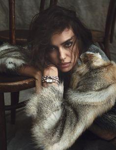 Irina Shayk by Norman Jean Roy for Harper's Bazaar Spain December 2015 11