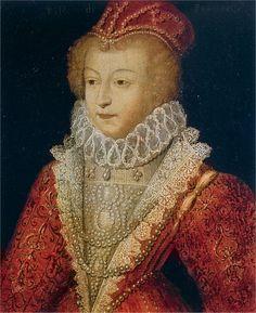 Marguerite de Valois, Queen of France -  (b.1553 - d.1615) known as 'la reine Margot'