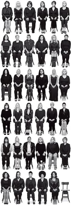 35 Bill Cosby Accusers Tell Their Stories - I think the last time I looked, the number was 48 women he RAPED. 48 women were raped and the police wouldn't look into it. Producers turned their heads and shrugged it off. Sad.