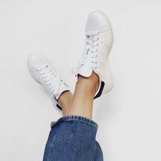 Fresh white Adidas