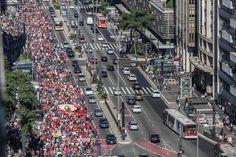 Contra reintegração de posse, MTST sai novamente às ruas - 23/07/2014 - SPressoSP