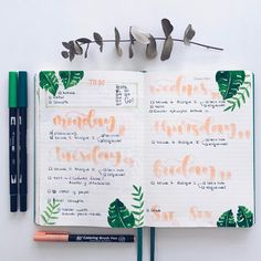 "1,587 Likes, 13 Comments - Bullet Journal & Studygram (@mylittlejournalblog) on Instagram: ""Bujo time!  A por el martes se ha dicho! """