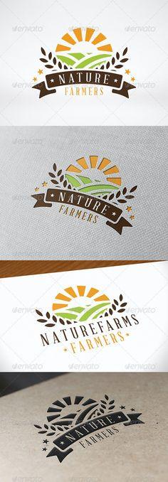 Agriculture Logo, Agriculture Companies, Sweet Logo, Plant Logos, Fruit Logo, Green Farm, Farm Logo, Organic Logo, Logo Food
