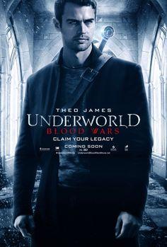 Underworld: Blood Wars Theo James Poster