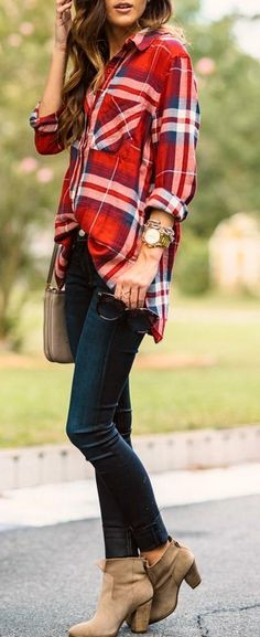Another interesting fall outfit idea - Miladies.net