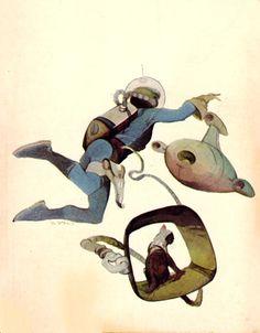 Here's one of the best cats in retro sci-fi art: Jeffrey Catherine Jones' 1968 cover art for Andre Norton's The Zero Stone Wayne Barlowe, Art Science Fiction, Jeff Jones, 70s Sci Fi Art, Alien Races, Cat Tags, Space Cat, Fantasy Illustration, American Comics