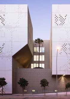 Palace of Justice | Mecanoo and Ayesa; Photo: Fernando Alda | Archinect
