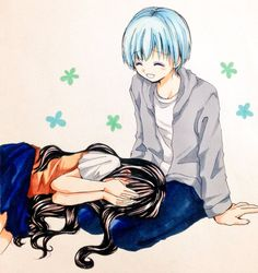 Nagisa x Kayano || Nagikae || Assassination Classroom
