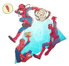 ヘイスパイディ! Marvel Art, Marvel Dc Comics, Marvel Avengers, Spiderman Art, Amazing Spiderman, Loki, Spideypool, Superfamily, Spider Verse