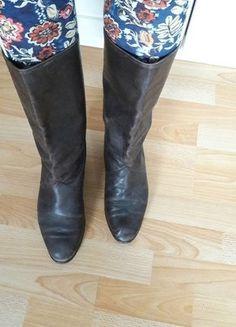 Kaufe meinen Artikel bei #Kleiderkreisel http://www.kleiderkreisel.de/damenschuhe/stiefel/142111535-70er-jahre-stiefel-vintage