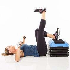 Single-Leg Bridge and Press: Best Exercise for an Hourglass Figure