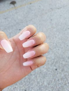 SNS Nails! Baby Boomer Pfinesse Salon and Spa in Pflugerville Tx