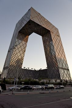 CCTV building - Beijing, China - via rudenoon