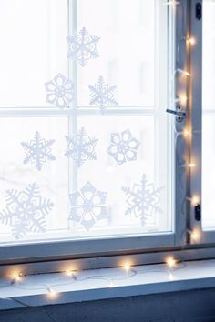 Joulukuusi lumihiutaleista | Kotivinkki