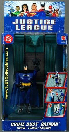Crime Bust Batman Justice League Action Figure 2003 Mattel | eBay