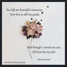 You left me beautiful memories