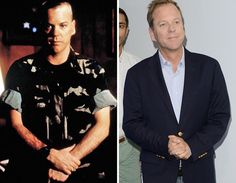 Men of the -- Kiefer Sutherland Eddie Izzard, Kiefer Sutherland, Stars Then And Now, Fountain Of Youth, Celebs, Celebrities, A Good Man, Suit Jacket, Bring It On