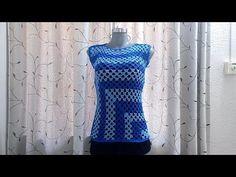 Trenzas u ochos REVERSIBLES tejidos a crochet (muestra: ¡una bufanda!) / Tejiendo Perú - YouTube