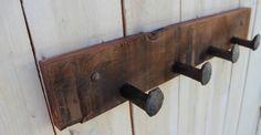 Railroad Spikes - Wall Hooks