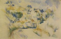 Paul Cézanne - Turn in the road near Aix