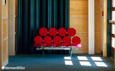 Nelson Marshmallow Sofa / Herman Miller