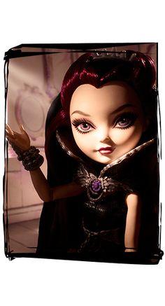 Por Que Raven é boa? Simplesmente porque seu pai é o Rei Bom! :O E ainda mais! ela tem que conversar com a mãe dela por um espelho especial!