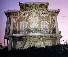 Giuseppe Brega, Villa Ruggeri, Italy, 1902 - 1907Source.