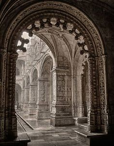 Mosteiro dos Jerónimos - Lisboa, Portugal.