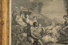 Nicolas VLEUGHELS (1668-1737) Incontro di Abigail e David - Radierung von 1720 in Antiquitäten & Kunst, Grafik, Drucke, Originaldrucke vor 1800   eBay