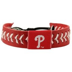 Philadelphia Phillies Baseball Bracelet - Red
