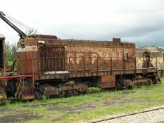RFP #C Richmond, Fredericksburg, and Potomac 1948 Alco S2 rebuilt as Yard Slug Gold Coast Railroad Museum, Miami, FL Olympus Sp-570uz