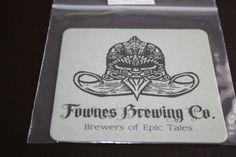 2012 Beermat Fownes Brewery Cat 001 (1X88 8/14)