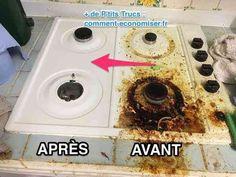Votre plaque de cuisson est pleine de graisse ? Heureusement, il existe une recette puissante pour nettoyer une plaque de cuisson très sale facilement. L'astuce est d'utiliser un mélange de savon noir et de cristaux de soude.  Découvrez l'astuce ici : http://www.comment-economiser.fr/astuce-incroyable-pour-degraisser-plaque-cuisson-facile.html?utm_content=buffer92609&utm_medium=social&utm_source=pinterest.com&utm_campaign=buffer