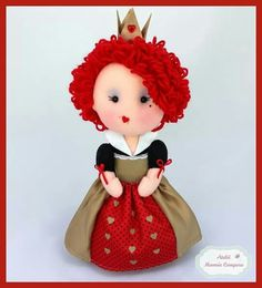 24 best Ideas for crochet baby girl toys red hearts Toys For Girls, Queen Of Hearts Alice, Crochet Patterns Free Women, Dolly Mixture, Felt Fairy, Baby Girl Crochet, Sewing Projects For Kids, Felt Toys, Arts And Crafts