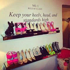 LOVE this for a walk in closet!!!