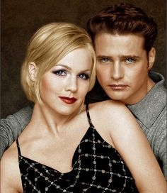 Brandon Walsh and Kelly Taylor (Beverly Hills 90210)