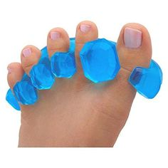YogaToes GEMS: Gel Toe Stretcher & Separator  Instant Therapeutic Relief For Feet. Fight Bunions Hammer Toes & More!