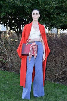 Erin O'Connor - Christian Dior Spring 2016 Haute Couture Front Row - January 25, 2016