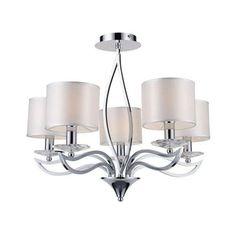 LAMPA wisząca FLAMENCO 35-04291 Candellux ecru