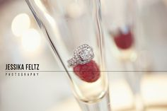 cool ring photos, macro photography, champagne toast