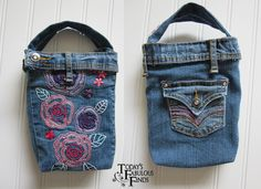 Today's Fabulous Finds: Denim Bag/Purse from Girls Jeans