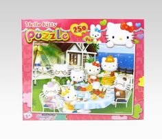 Hello Kitty 250 Piece Jigsaw Puzzle: Picnic