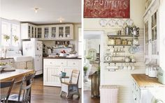 Shabby Chic Country Kitchens | Country Kitchens