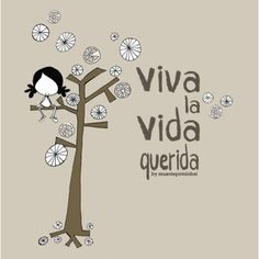 "Lámina ""Viva la vida"""