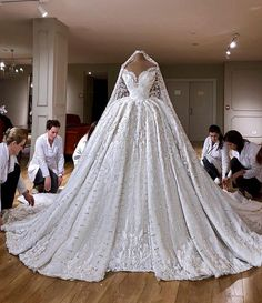 Out of this world wedding ball gowns by Valdrin Sahiti . - Out of this world wedding ball gowns by Valdrin Sahiti … – - Princess Wedding Dresses, Dream Wedding Dresses, Bridal Dresses, Wedding Gowns, Bridesmaid Dresses, Reception Dresses, Wedding Reception, Wedding Church, Lace Wedding
